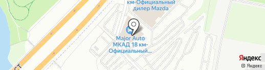 На крючке на карте Дзержинского