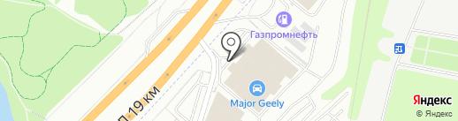 Major Hyundai на карте Дзержинского