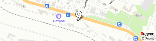 Союз на карте Новороссийска