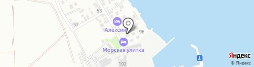 Алексино на карте Новороссийска