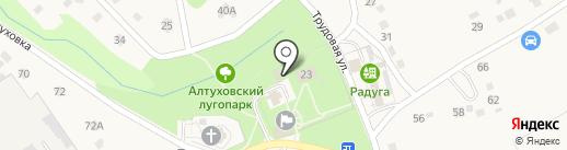 Сбербанк, ПАО на карте Федосеевки