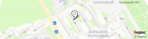 Сегон на карте Старого Оскола