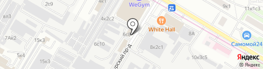 Евродрова на карте Москвы