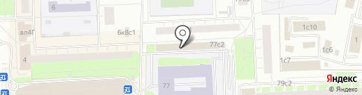 Таганская на карте Москвы