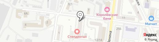 На Гагарина на карте Королёва