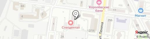 МСК Энерго на карте Королёва