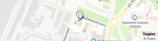 Пожарная часть №20 на карте Королёва