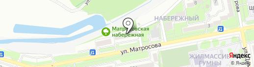 Лифтовик на карте Старого Оскола