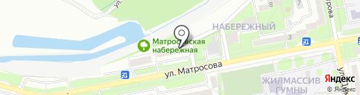 Ателье на ул. Набережный микрорайон, 12 на карте Старого Оскола