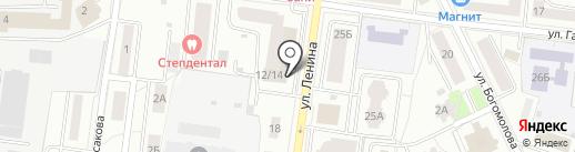 Лепёшка на карте Королёва