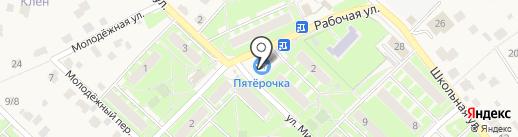 Cashpoint на карте Пушкино
