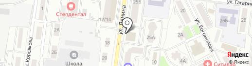 Авангард на карте Королёва
