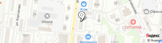 Инфолинк на карте Королёва