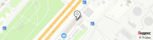 ВОДОПАД на карте Дзержинского