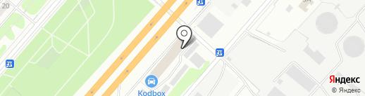 Магазин новогодних аксессуаров на карте Дзержинского
