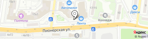 Лента на карте Королёва