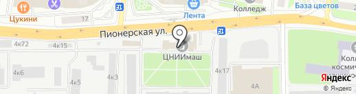 КоролёвФарм на карте Королёва