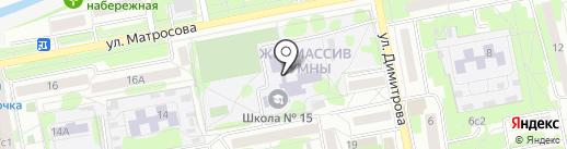 Детская школа искусств им. М.Г. Эрденко №1 на карте Старого Оскола