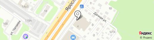 95 градусов на карте Королёва