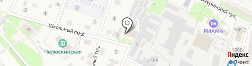 Импульс на карте Челюскинского