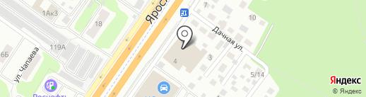 Автозапчасти на карте Королёва