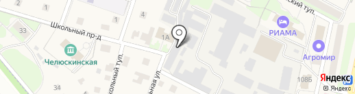 Деметра, ЗАО на карте Челюскинского