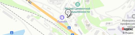 Деловой Мир на карте Новороссийска