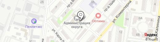 Совет депутатов на карте Королёва