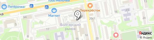 Торгово-сервисная мастерская на карте Старого Оскола