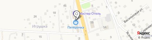 КБ Геобанк на карте Домодедово
