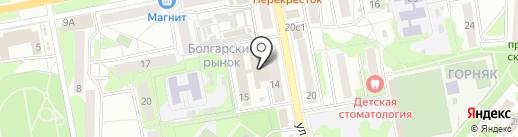 СЛАВЯНКА на карте Старого Оскола