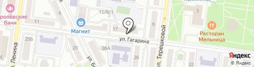 АТРИС на карте Королёва