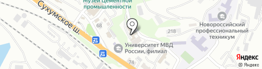 AutoRefinisH на карте Новороссийска