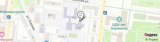 Технологический университет на карте Королёва