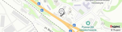 Автобус1.ру на карте Новороссийска