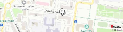 Салон цетов на карте Королёва