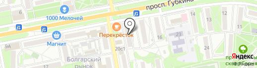 Центр стандартизации метрологии и сертификации на карте Старого Оскола