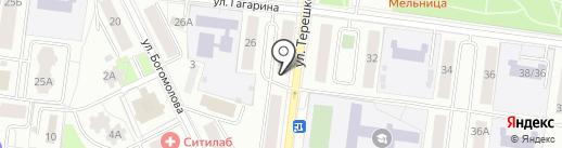 Интердентос на карте Королёва