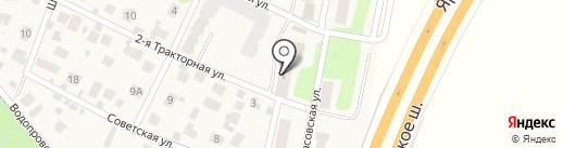 Клязьминский отдел полиции на карте Челюскинского