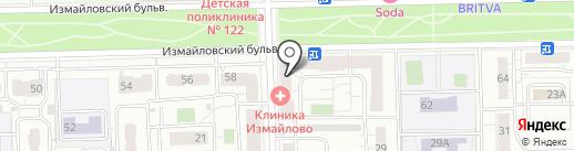 Клиника семейной медицины доктора Бандуриной на карте Москвы