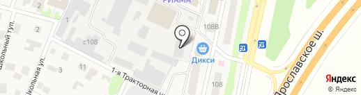 Деметра на карте Челюскинского