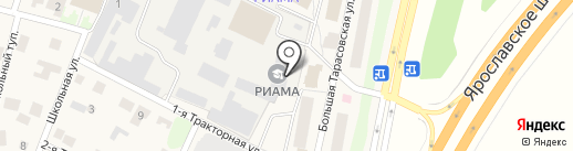 РИАМА на карте Челюскинского