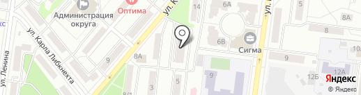 АКАНТ на карте Королёва