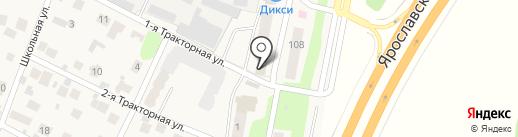 LSL на карте Челюскинского