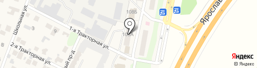 Продуктовый магазин на карте Челюскинского