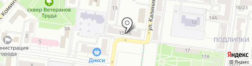 ЭМОНТ на карте Королёва