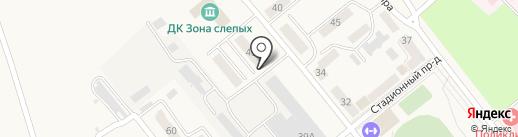 Стигр на карте Болохово