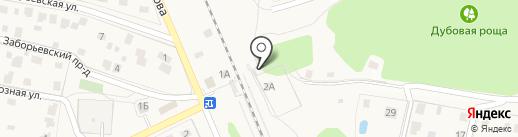 Востряково на карте Домодедово