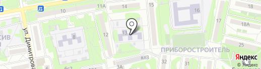 Детский сад №19, Родничок на карте Старого Оскола