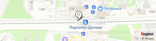 Медиа-Селект на карте Королёва